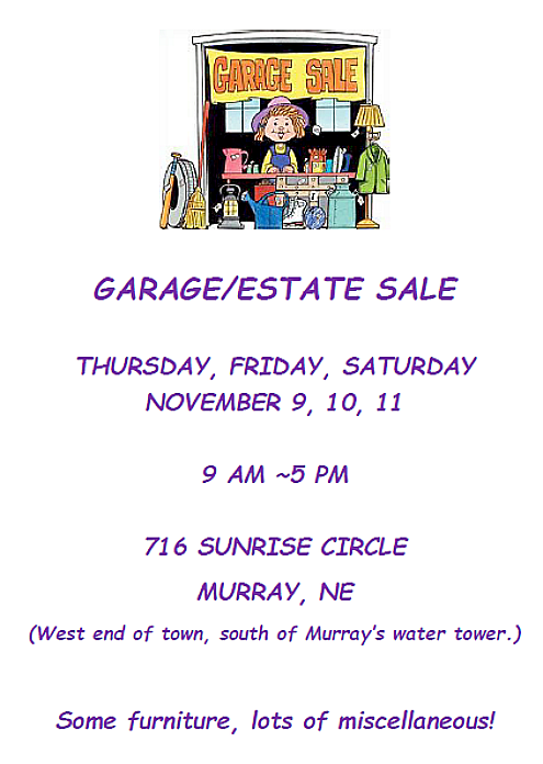 2017-11-01 Garage_Estate_Sale