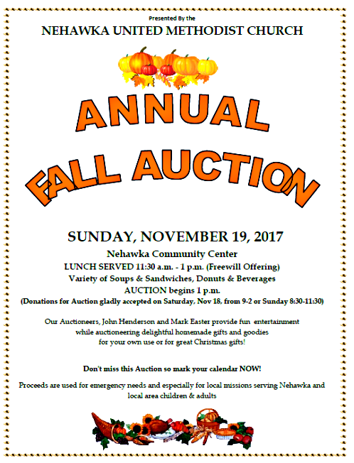 2017-11-08 NEH_UMC_AUCTION