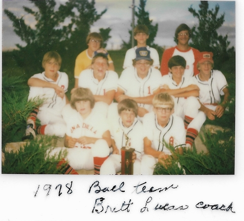 1978 Ball Team Brett Lucas Coach 2 495