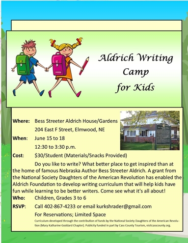 Aldrich Writing Camp 495