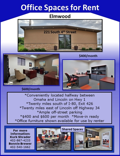 Office Spaces for Rent Flyer Sep 13 495