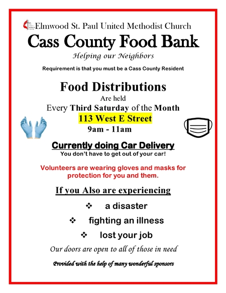 Advertisement for Food bank 2020 page0001 3 450