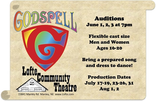 Godspell Auditions_500