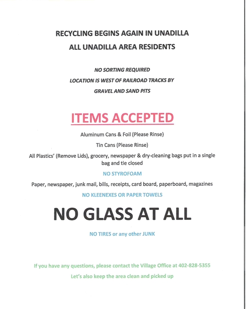 Unadilla Recycle_Poster_500